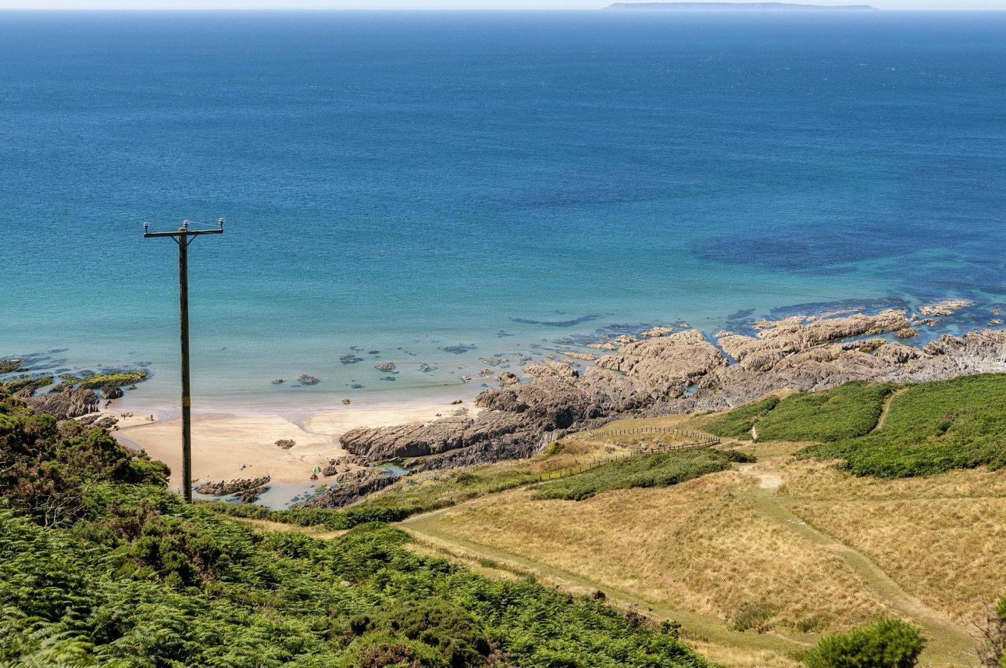Mortehoe in North Devon
