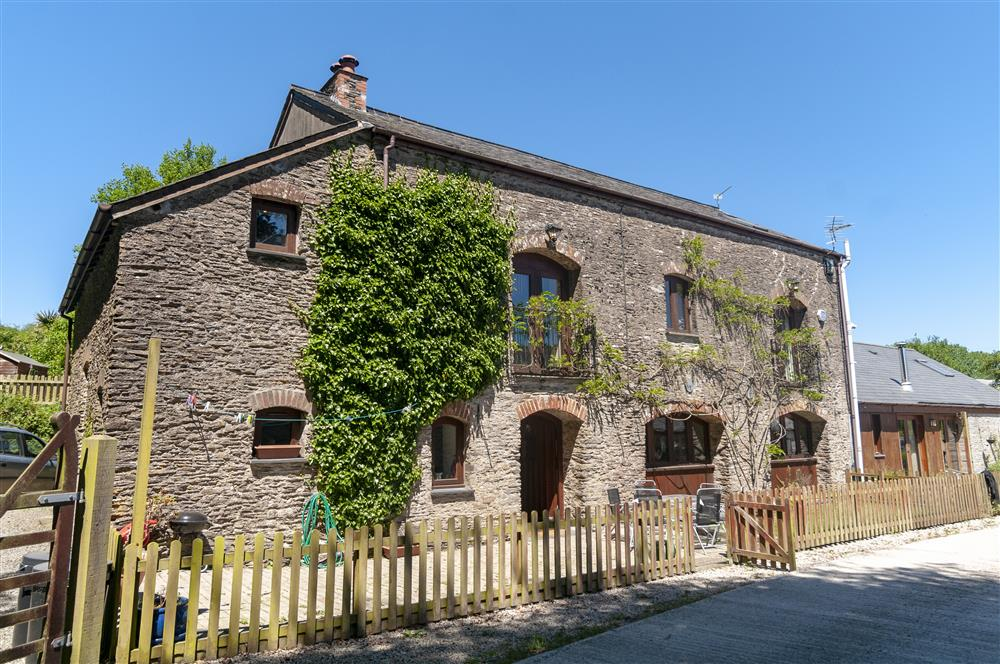 Exterior of Barton Mill Holiday Cottage in West Down North Devon