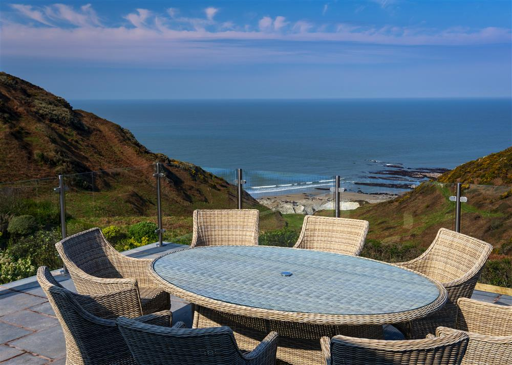 View of Mortehoe from Heatherdale Holiday Cottage